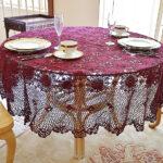 Merlot Round Crochet