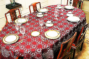 crochet tablecloths, crochet lace.
